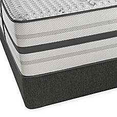 image of beautyrest platinum hybrid santa clara ultra plush low profile mattress set