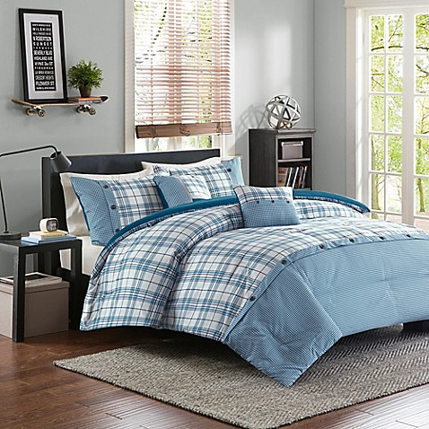 buy intelligent design daryl twin twin xl duvet cover set in teal from bed bath beyond. Black Bedroom Furniture Sets. Home Design Ideas