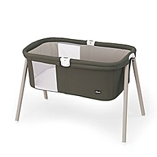image of Chicco® LullaGo™ Portable Bassinet in Brown