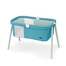 image of Chicco® LullaGo™ Portable Basinet in Blue