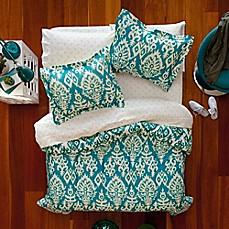 Image Of Aéropostale Katya Reversible Comforter Set In Turquoise