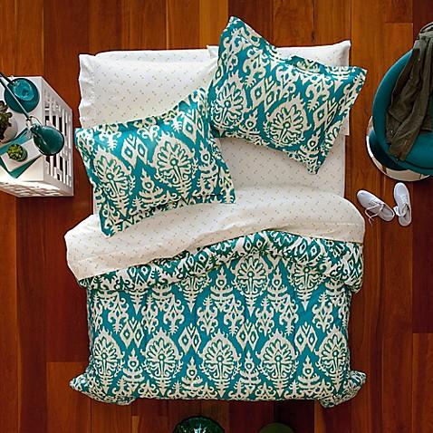 Aropostale katya reversible comforter set in turquoise bed bath aropostale katya reversible comforter set in turquoise gumiabroncs Image collections