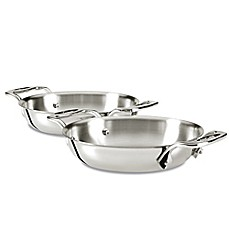image of All-Clad Gratins in Stainless Steel (Set of 2)