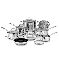 image of Cuisinart® Chef's Classic™ Stainless Steel 14-Piece Cookware Set