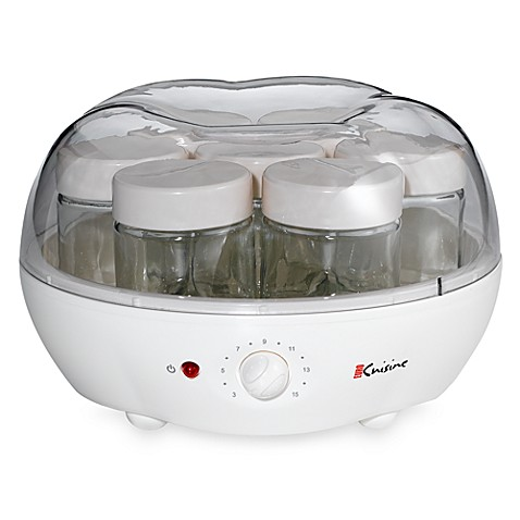 Euro cuisine automatic yogurt maker bed bath beyond for Automatic yogurt maker by euro cuisine