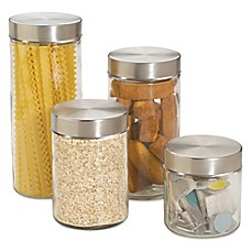 Kitchen Canisters Glass Canister Sets For Coffee Bed