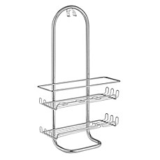 InterDesign® Classico Jumbo Shower Caddy In Silver