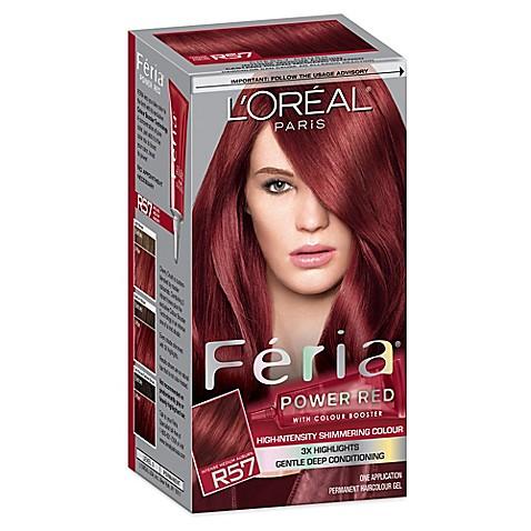 L 39 Oreal Reg Paris Multi Faceted Feria Haircolor In R57 Cherry Crush