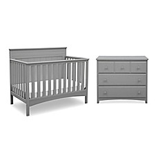 High Quality Image Of Delta™ Children Fancy Nursery Furniture Collection In Grey
