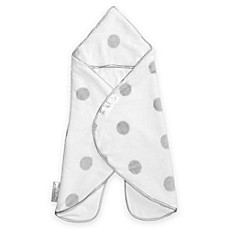image of Puckababy® The Gogo Newborn® Size 0-7M Wearable Blanket in White Dot