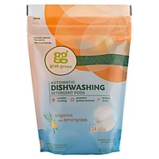 image of Grab Green Automatic Dishwashing Detergent in Tangerine with Lemongrass