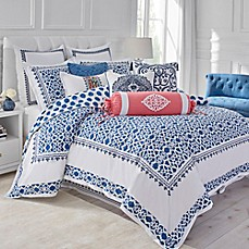 image of Dena™ Atelier Indigo Dream Reversible Duvet Cover