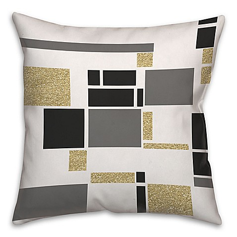 Modern Art Pillow : Buy Modern Art Geometric Square Throw Pillow from Bed Bath & Beyond
