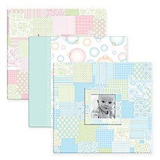 image of Baby Photo Cover Scrapbook Album