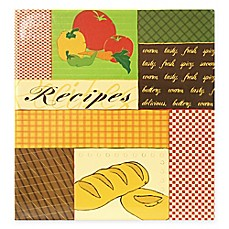 image of Veggie 3-Ring Recipe Scrapbook with Recipe Cards