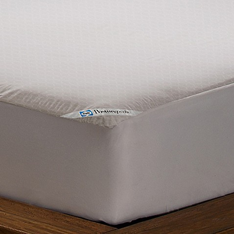 Image Of Sealy Posturepedic Allergy Protection Mattress Cover