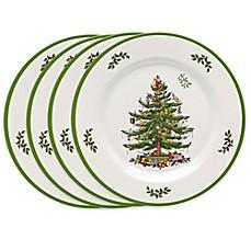 spode christmas tree dinner plates | Bed Bath & Beyond