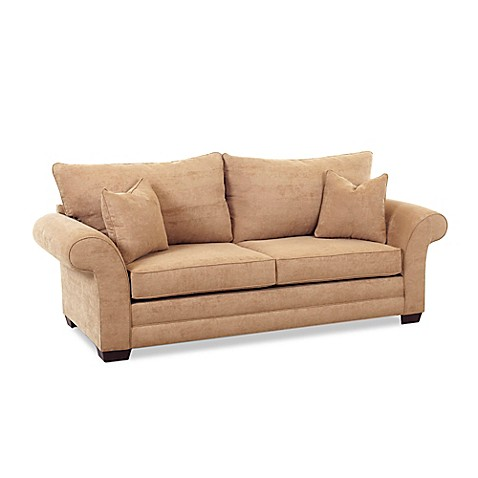 Buy Klaussner Holly Dreamquest Queen Sleeper Sofa in Bronze from Bed Bath & Beyond