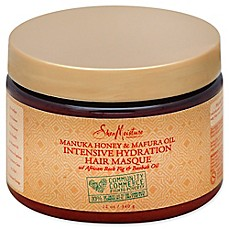 image of SheaMoisture® Manuka Honey & Mafura Oil 12 fl. oz. Intensive Hydration Hair Masque
