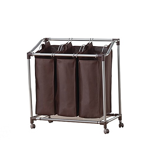 Triple Laundry Sorter Bed Bath And Beyond