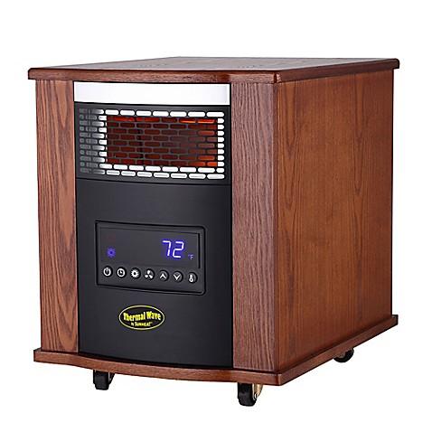 The Original Sunheat Thermal Wave Infrared Heater In Oak