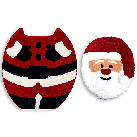 Christmas Santa 2 Piece Bath Set Bed Bath Amp Beyond