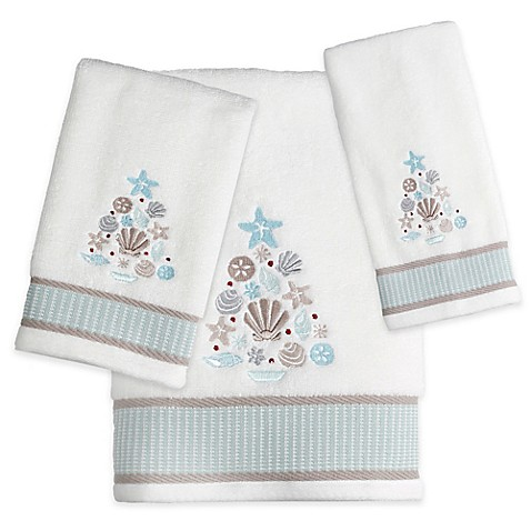 Coastal Christmas Bath Towel Bed Bath Beyond