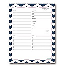 image of Kahootie Co® Daily Schedule Notepad in Blue