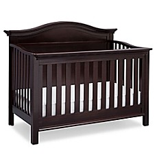 image of Serta® Bethpage 4-in-1 Convertible Crib in Dark Chocolate