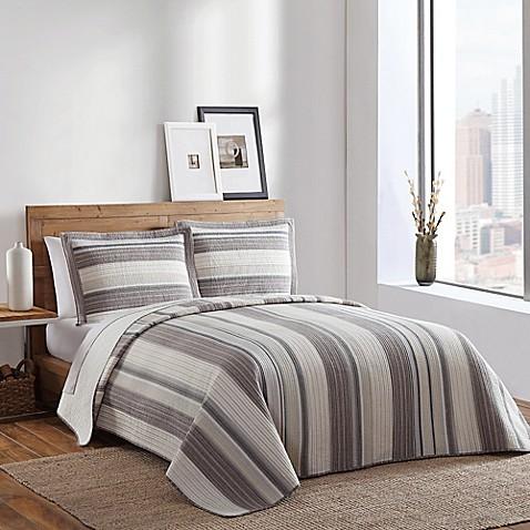 Buy brooklyn loom fulton yarn dyed twin quilt from bed for Brooklyn loom bedding