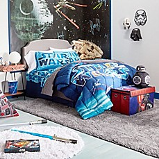 image of Star Wars™ Space Battle Reversible Comforter