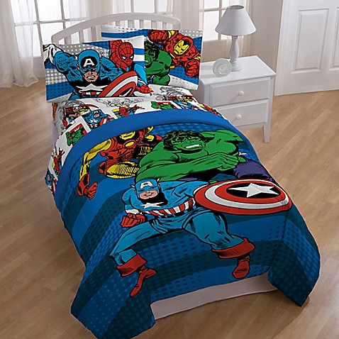 marvel lego bedding