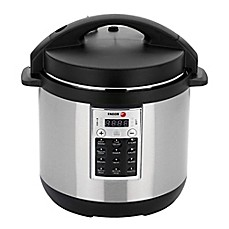 image of Fagor Premium 6 qt. Electric Pressure Cooker and Rice Cooker