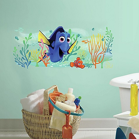 Buy finding dory and nemo peel and stick giant wall decal for Finding dory wall decals