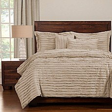 image of Tattered Duvet Cover Set with Comforter Insert