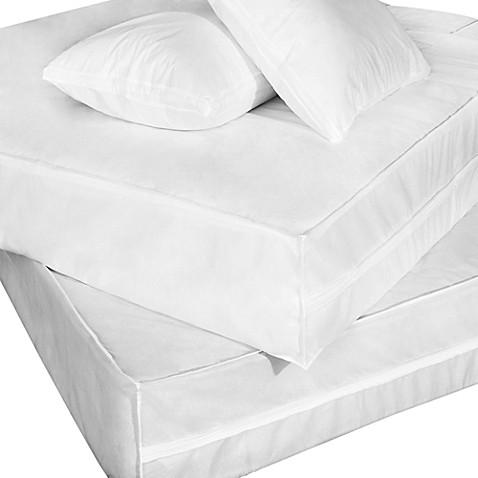 Everfresh Bug Waterproof Bed Protector Set Bed Bath Amp Beyond