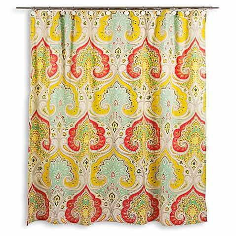 Echo Design Jaipur 72 Inch W X 84 Inch L Shower Curtain Bed Bath Beyond