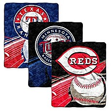 image of MLB Sherpa Throw Blanket by The Northwest