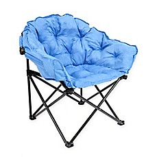 image of folding club chair