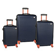 image of Nautica® 3-Piece Spinner Luggage Set