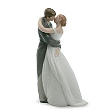 image of Nao® A Kiss Forever Porcelain Figurine