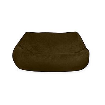 Image Of Two Seat Plush Bean Bag Chair