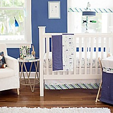 image of My Baby Sam Follow Your Arrow Crib Bedding Collection