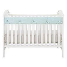 image of Babee Talk® Eco-Teether® Short Crib Rail Cover in Aqua