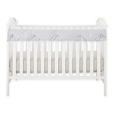 image of Babee Talk® Eco-Teether® Short Crib Rail Cover in Grey
