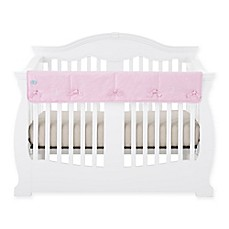 image of Babee Talk® Eco-Teether® Long Crib Rail Cover in Pink