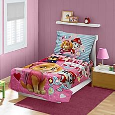 image of nickelodeon paw patrol best pups ever 4piece toddler bedding set
