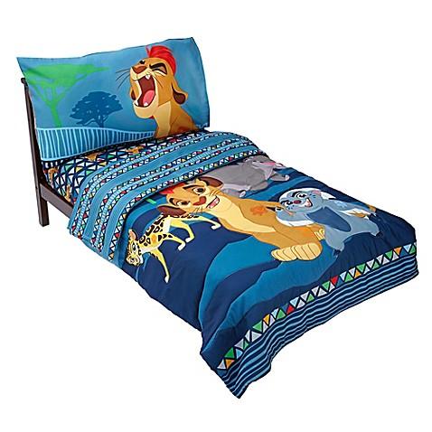 Disney lion guard wild team 4 piece toddler bedding set for Wild bedding