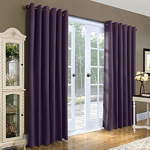 Thermalogic Weathermate 84 Inch Double Wide Grommet Top Window Curtain Panel Pair Bed Bath