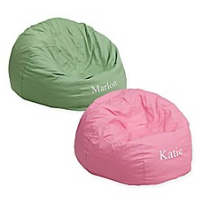 Image Of Flash Furniture Personalized Kids Bean Bag Chair